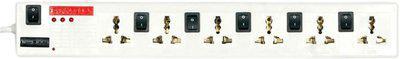 Pinnacle PA115Dx 6 Socket Surge Protector(White)