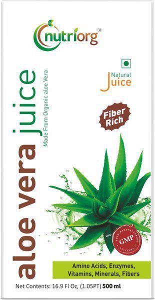Nutriorg Aloevera Juice(500 ml)