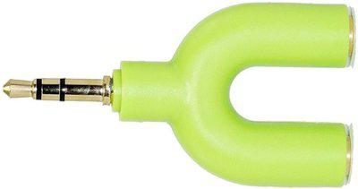 TechGear Green Headset Adapter Phone Converter(Android, iOS)