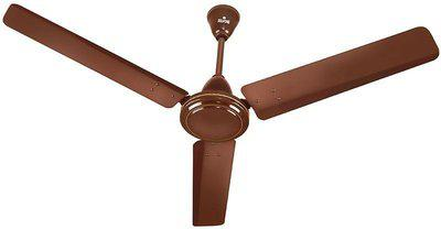 Polycab Polycab Zoomer 1200 mm 3 Blade Ceiling Fan(Brown, Pack of 1)