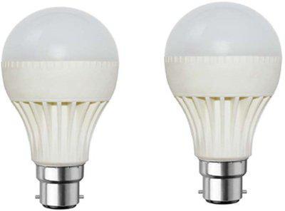 Rashmi 7 W Standard B22 D LED Bulb(White, Pack of 2)