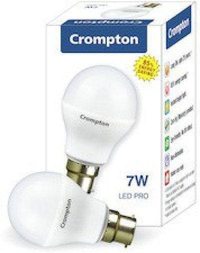 Crompton Greaves 7 W Standard LED Bulb(White, Pack of 10)