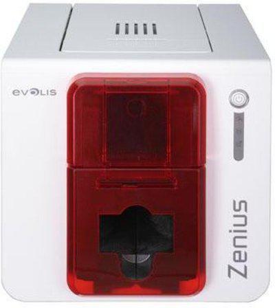 Evolis Zenuis Single Function Monochrome Printer(White)