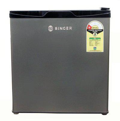 Singer 49 L Direct Cool Single Door 1 Star (2020) Refrigerator(Grey, Black, MAXICHILL 49 LTR 1S)
