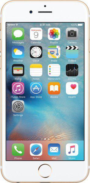 (Refurbished) Apple Iphone 6s (Gold, 128 GB)