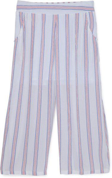 Cub McPaws Regular Fit Girls Red, White Trousers