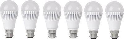 Orient 9 W Standard B22 D LED Bulb(White, Pack of 6)