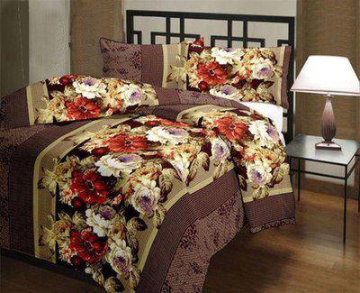 RajasthaniKart Floral Single Comforter(Poly Cotton, Multicolor)