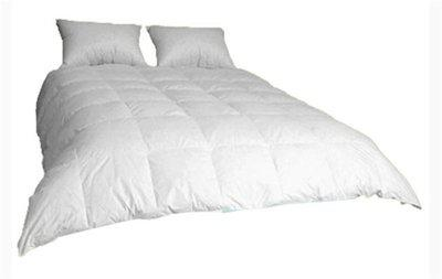 Ans Self Design Double Comforter(Polyester, White)
