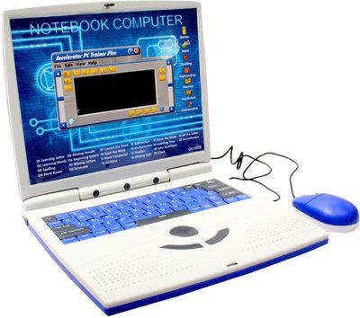 SJ 22 Activities English Learner Laptop Toy(Multicolor)