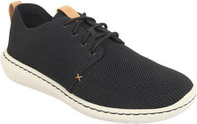 Clarks Men's Un Aldric Cap Black Leather Formal Shoes-10./India (45 EU) (91261326797105)