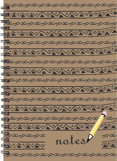 Printelligent Printelligent Designer A5 size Notebook Diary A5 Notebook 160 Pages(Multicolor)