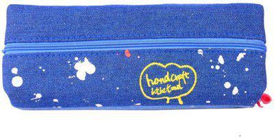 Enwraps Hand Craft Bird Art Cloth Pencil Box(Set of 1, Multicoloured)