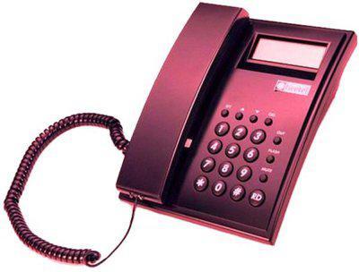Beetel M51N Corded Landline Phone(Red)