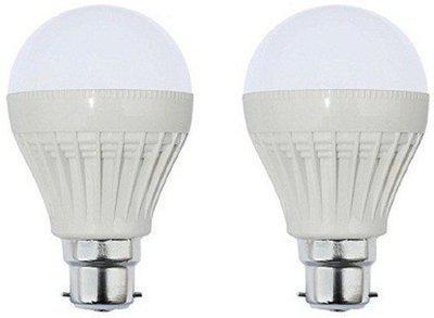 Parax 5 W Standard B22 LED Bulb(White, Pack of 2)