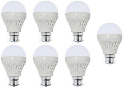Parax 3 W Standard B22 LED Bulb(White, Pack of 7)