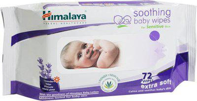Himalaya Soothing Baby Wipes - 72 Pieces x 3(3 Pieces)