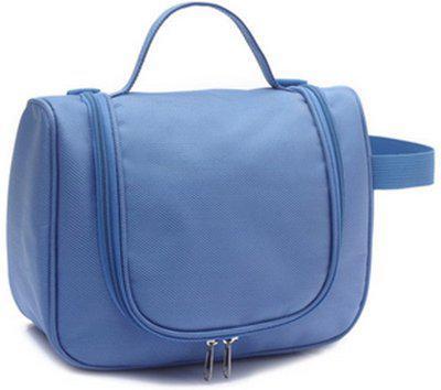 Honestystore Cosmetic Make up Bag Organizer Travel Toiletry Kit(Blue)