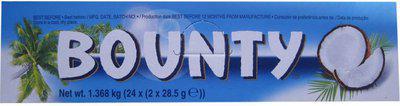 Bounty 24 Pcs Chocolate Bars(1368 g)