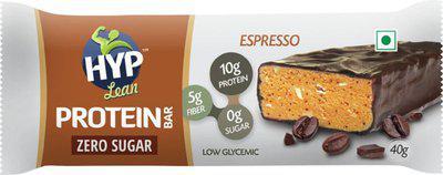 HYP Espresso (Box of 6) Protein Bars(40 g, Chocolate Espresso)