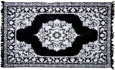 Abhomedecor Multicolor Chenille Carpet(148 cm X 214 cm)