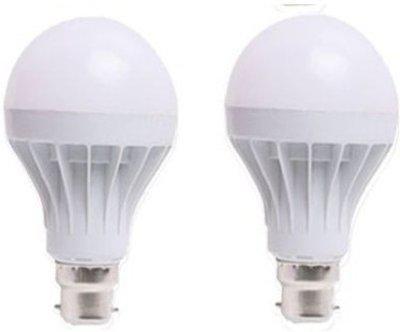 LED 18 W Standard B22 LED Bulb(White, Pack of 2)