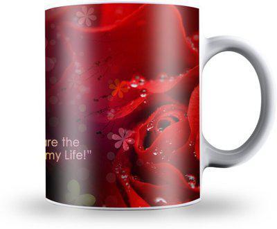 Presto Love Gift for Girlfriend Boyfriend valentine day L1 Ceramic Mug(330 ml)