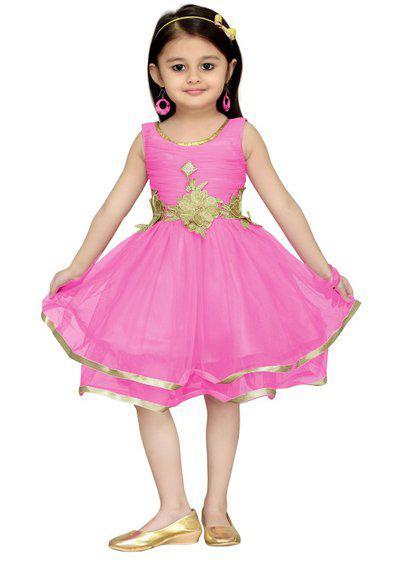 Aarika Christmas Special Pari Frock Kids Costume Wear