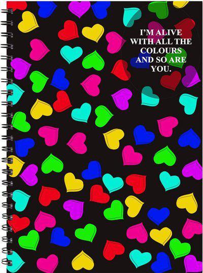 Printelligent A5 Notebook(Printelligent, Black)