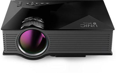 IBS UC 46,WIFI 1200 lm LED Corded Portable Projector(Black)