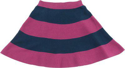 United Colors of Benetton. Striped Girls A-line Dark Blue, Pink Skirt