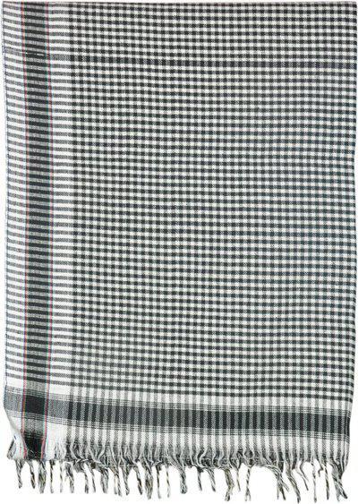 Jass Home Decor Checkered Single Blanket(Microfiber, Black)