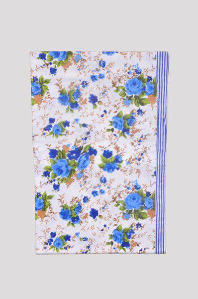 Jass Home Decor Floral Single Blanket(Microfiber, Multicolor)