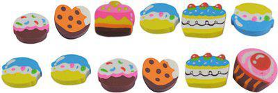 Saamarth Impex SI-5145 Non-Toxic Eraser(Set of 12, Multicolor)