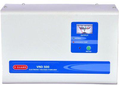 V-Guard VND 500 For AC upto 2 Ton Voltage Stabilizer(Grey) | Upto 11% Off