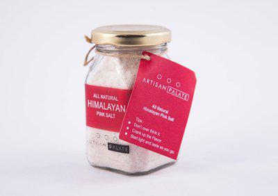 Artisan Palate All Natural Himalayan Pink Salt Himalayan Pink Salt(150 g)