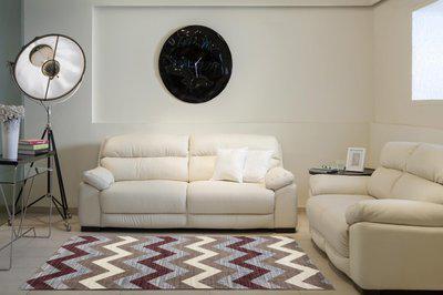 SPACES Multicolor Nylon Carpet(91.44 cm X 152.4 cm)