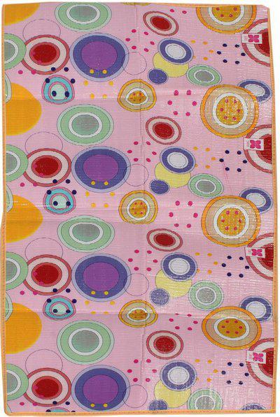 Mandhania Multicolor Polyester Carpet(92 cm X 182 cm)