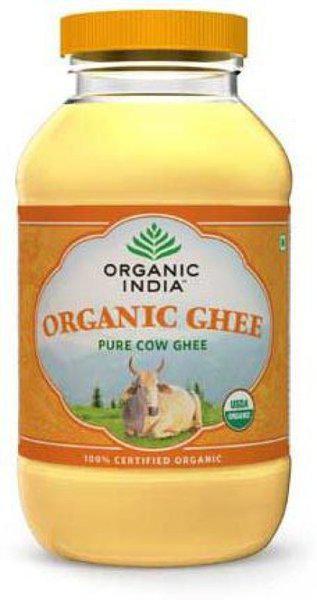 Organic India Pure Cow Ghee 500 ml Plastic Bottle