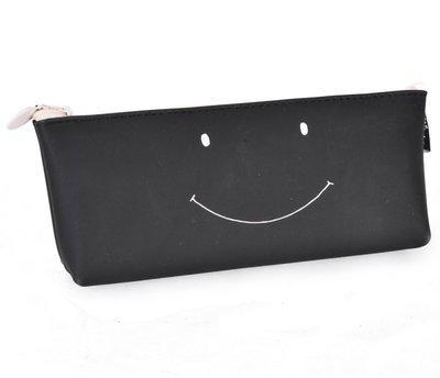 Enwraps Series NA Art Cloth Pencil Box(Set of 1, Black)
