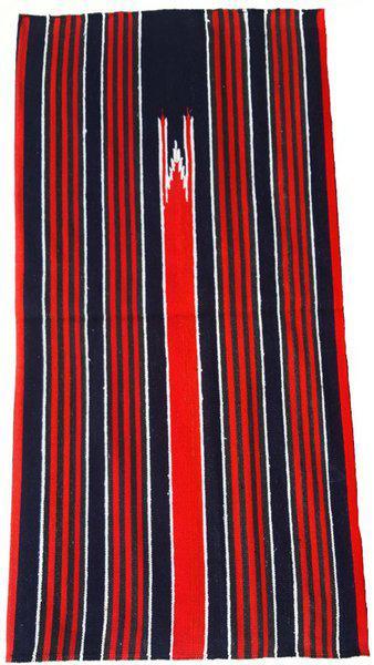 Hashtag Multicolor Cotton Carpet(114 cm X 68 cm)