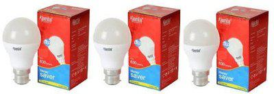 Ajanta 7 W Round B22 LED Bulb(White, Pack of 3)