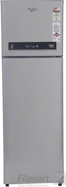 Whirlpool 292 L Frost Free Double Door 3 Star (2019) Refrigerator(Alpha Steel, IF 305 ELT ALPHA STEEL(3S))
