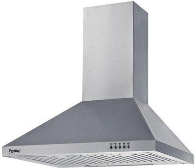 Prestige DKH 600 CS Wall Mounted Chimney(Silver 760 CMH)
