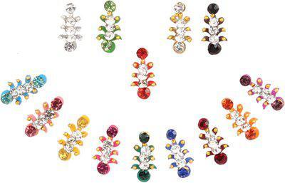 Instabuyz Bindi For Head Multicolor Bindis(everyday)