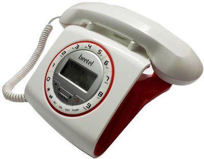 Beetel MG-BEETEL-M73 Corded Landline Phone(Black)