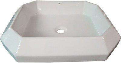 Brizzio Table Top Ceramic Wash Basin 5077 Table Top Basin(White)