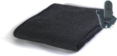 Winter Care Plain Single Electric Blanket(Polyester, Black)