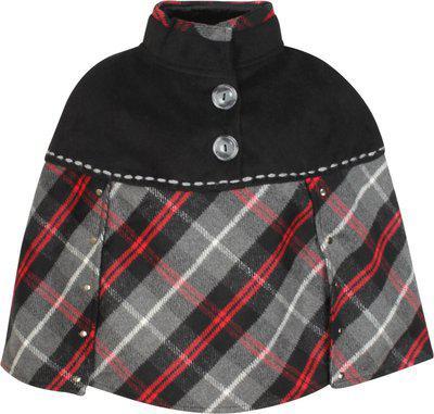 Cutecumber Coat Fabric Poncho
