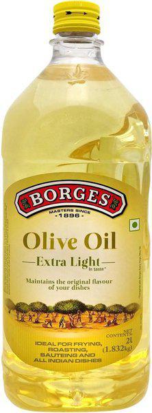 Borges Extra Light Olive Oil Plastic Bottle(2 L)